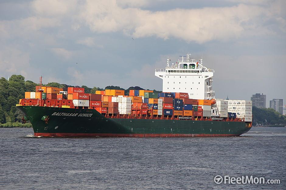 Das Schiff MS Balthasar Schulte