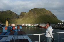 Internationale Frachtschiffreisen Pfeiffer - Von Seegang und Landgang - Ausblick