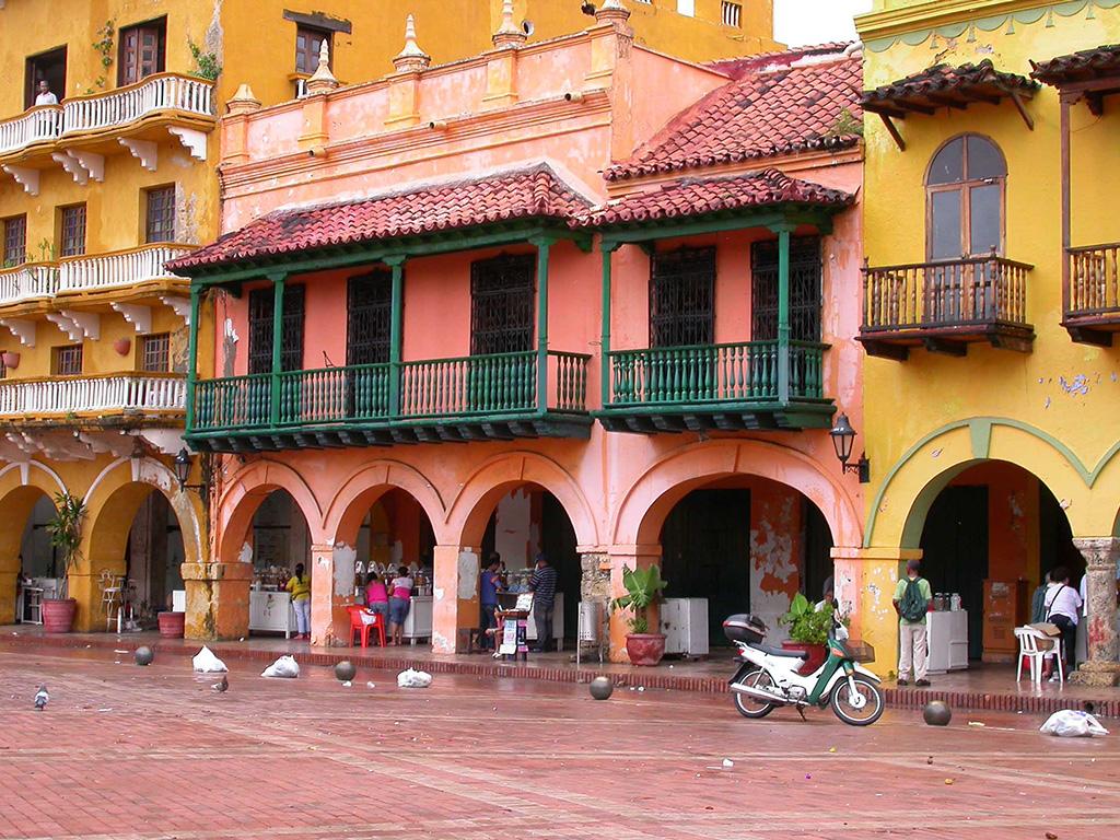 Internationale Frachtschiffreisen Pfeiffer - Von Seegang und Landgang - Cartagena 2