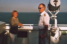 Internationale Frachtschiffreisen Pfeiffer - Von Seegang und Landgang - Kapitän 2