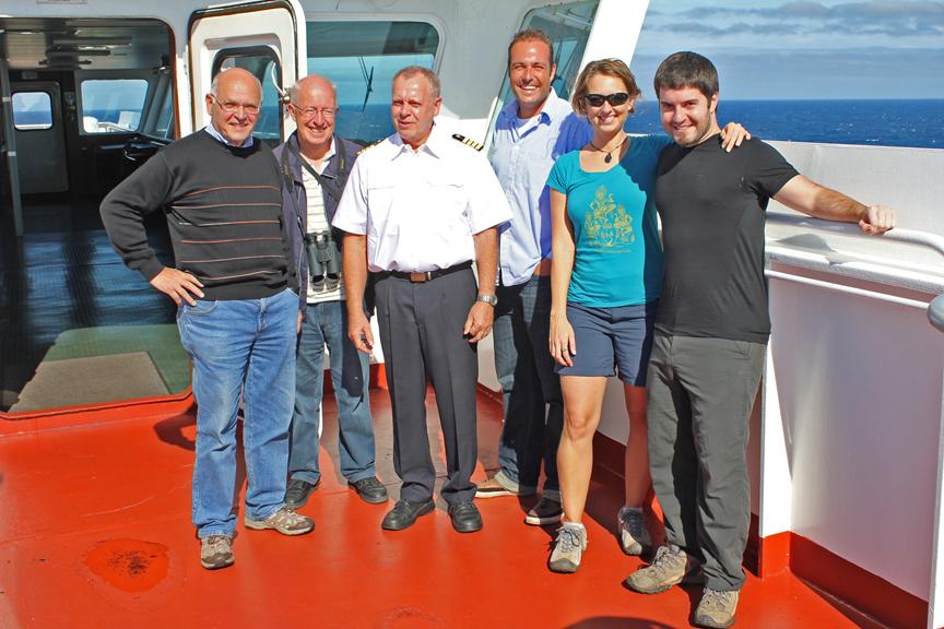 Internationale Frachtschiffreisen Pfeiffer - Von Seegang und Landgang - Mannschaft