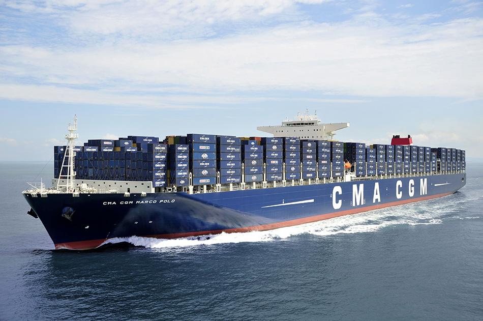 Internationale Frachtschiffreisen Pfeiffer - Von Seegang und Landgang - Containerschiff