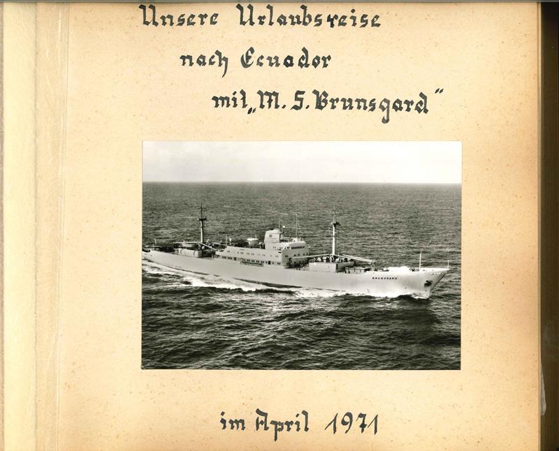 Internationale Frachtschiffreisen Pfeiffer - Reisehistorie - Reise 04.1979 - Bild 1