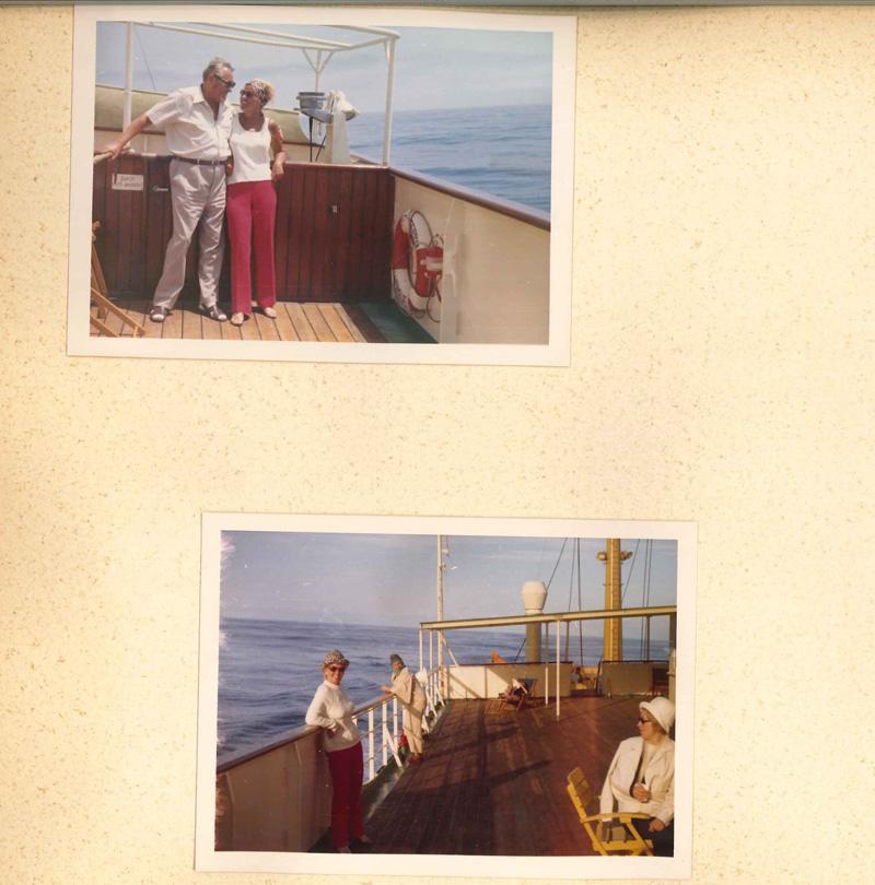 Internationale Frachtschiffreisen Pfeiffer - Reisehistorie - Reise 04.1979 - Bild 2