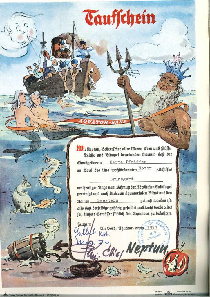 Internationale Frachtschiffreisen Pfeiffer - Reisehistorie - Reise 04.1979 - Bild 4