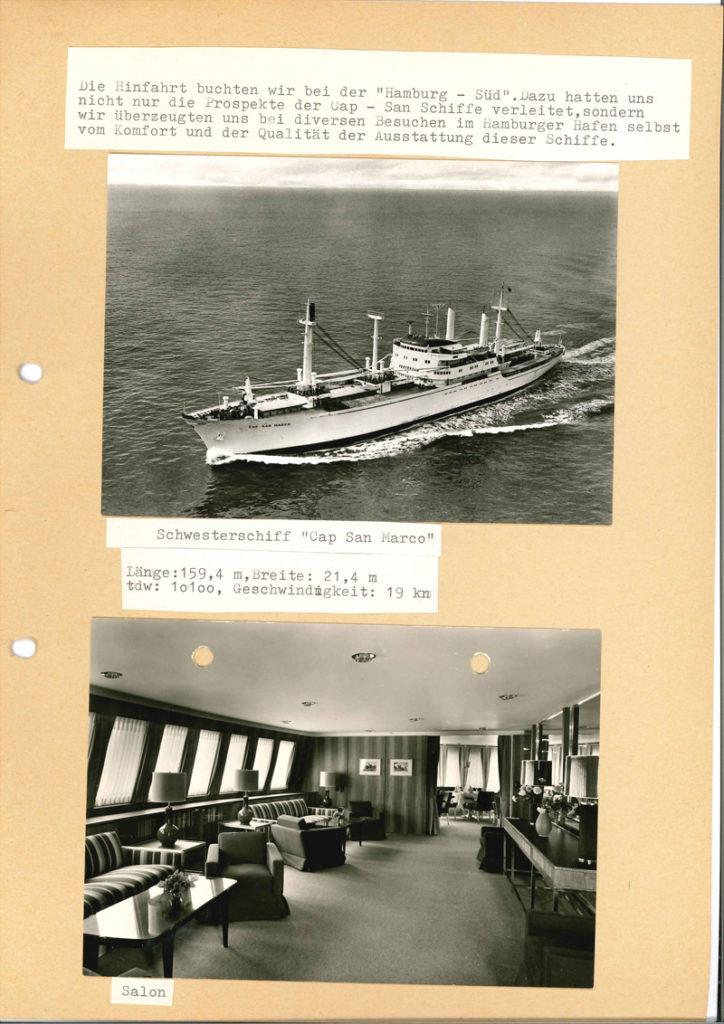 Internationale Frachtschiffreisen Pfeiffer - Reisehistorie - Reise 04.1979 - Bild 5