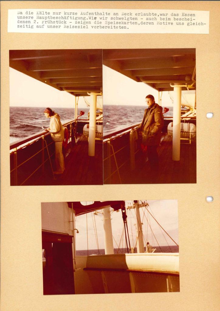 Internationale Frachtschiffreisen Pfeiffer - Reisehistorie - Reise 04.1979 - Bild 8