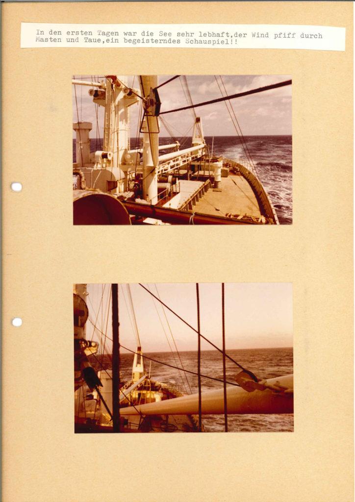 Internationale Frachtschiffreisen Pfeiffer - Reisehistorie - Reise 04.1979 - Bild 9