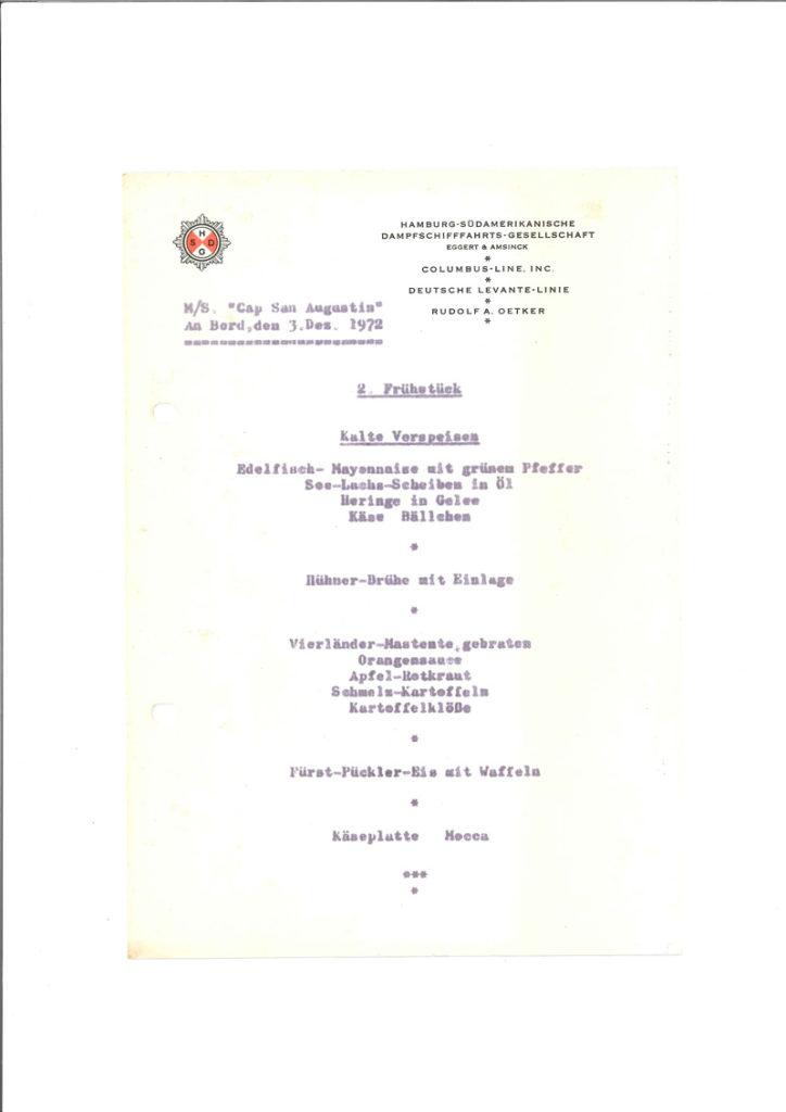 Internationale Frachtschiffreisen Pfeiffer - Reisehistorie - Reise 04.1979 - Bild 11