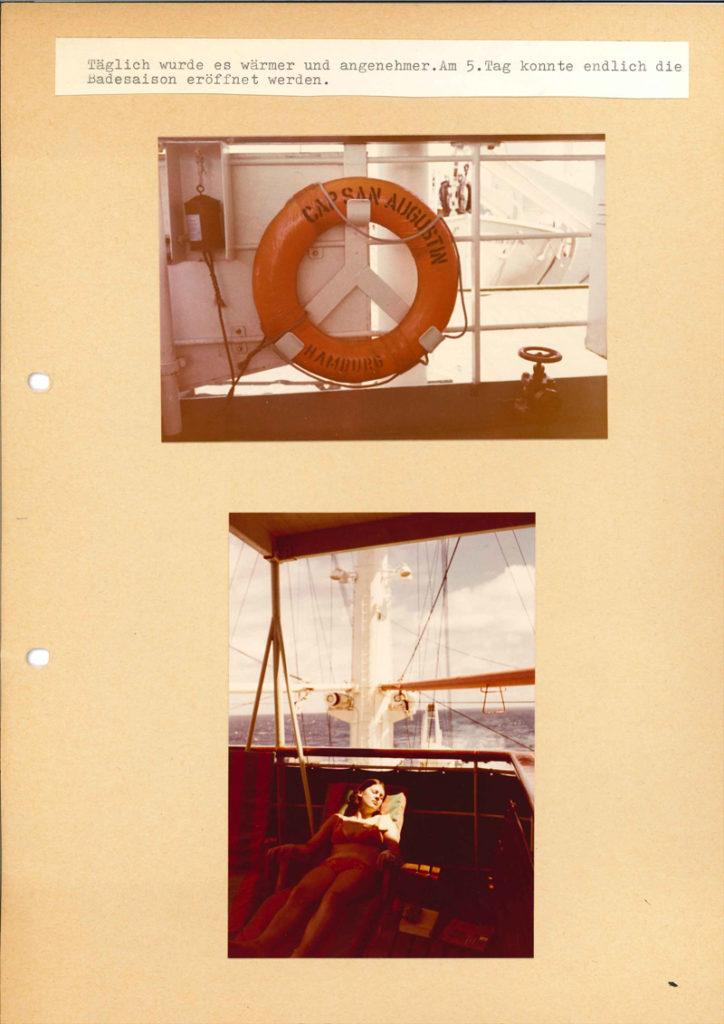 Internationale Frachtschiffreisen Pfeiffer - Reisehistorie - Reise 04.1979 - Bild 12