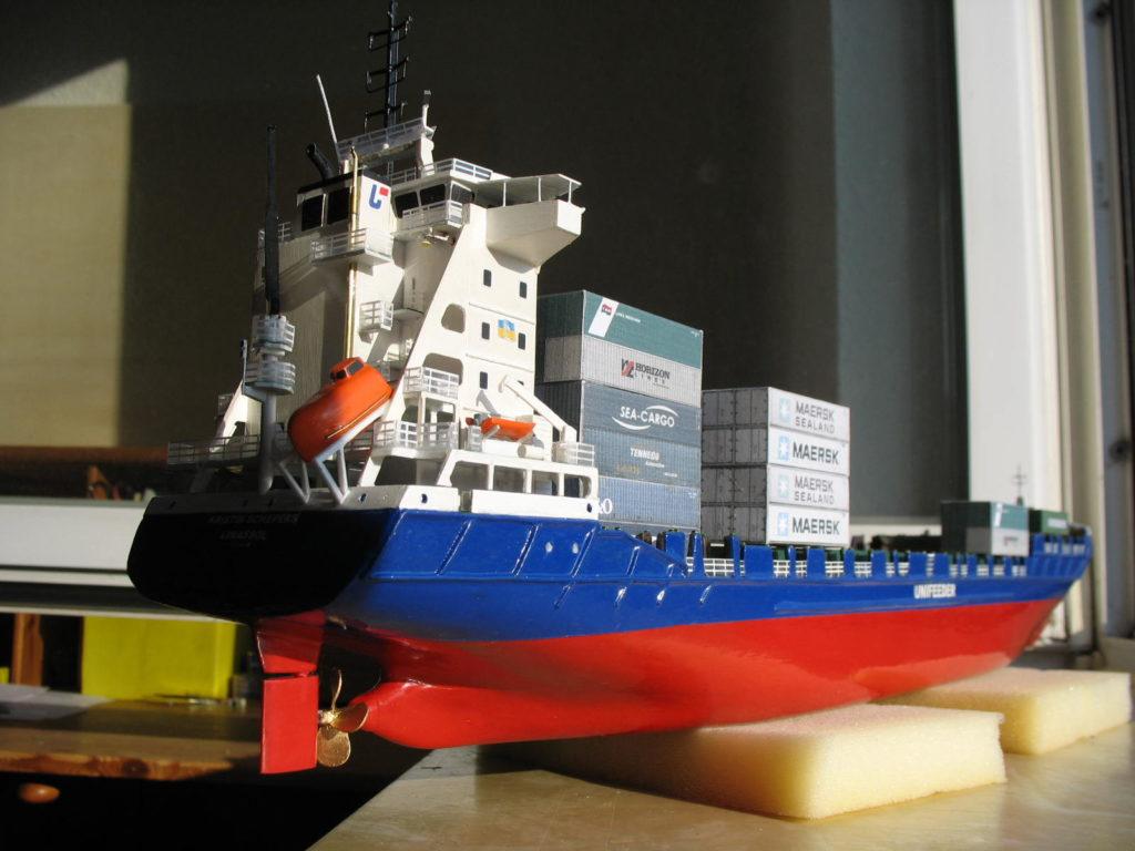 Internationale Frachtschiffreisen Pfeiffer - Einsendungen von Kunden - Frachtschiffreisen Modell - Bild 2