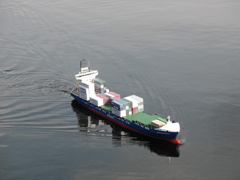 Internationale Frachtschiffreisen Pfeiffer - Einsendungen von Kunden - Frachtschiffreisen Modell - Bild 5