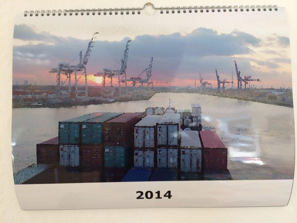 Internationale Frachtschiffreisen Pfeiffer - Einsendungen von Kunden - Frachtschiffreisen Kalender