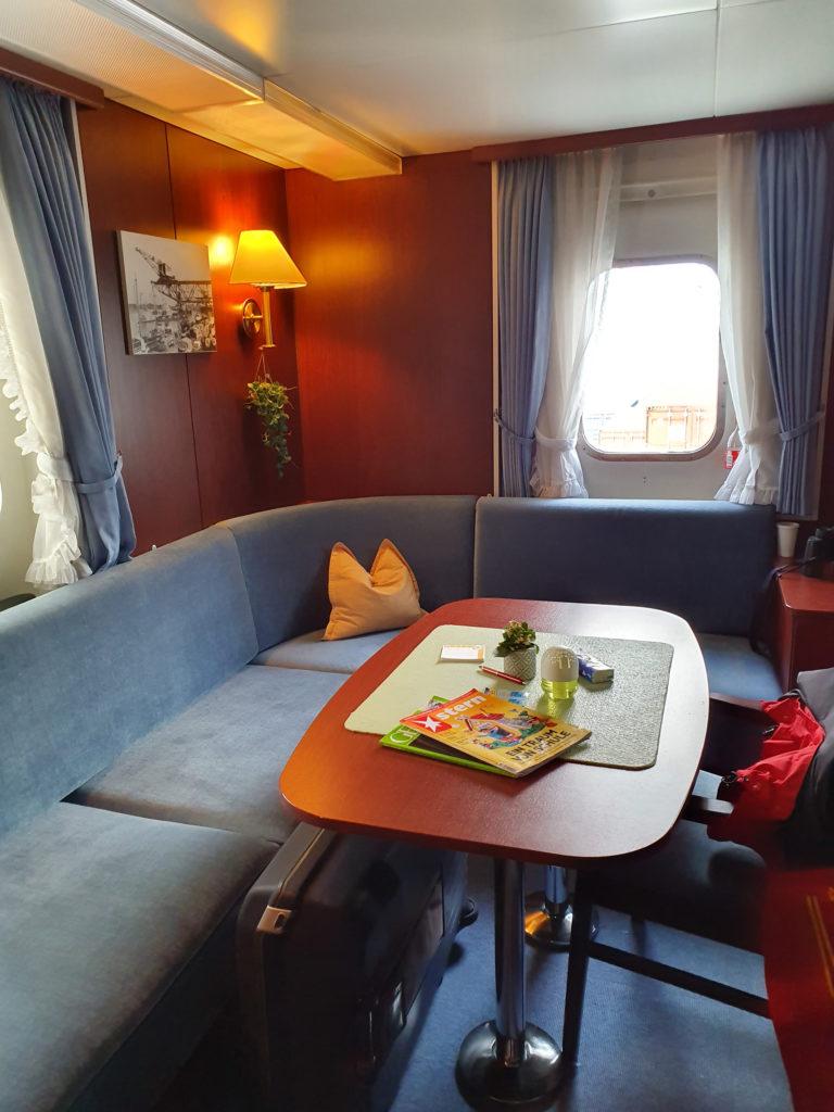 Internationale Frachtschiffreisen Pfeiffer - Besonderheiten von Frachtschiffreisen - Leben an Bord - Unterbringung und Verpflegung 2